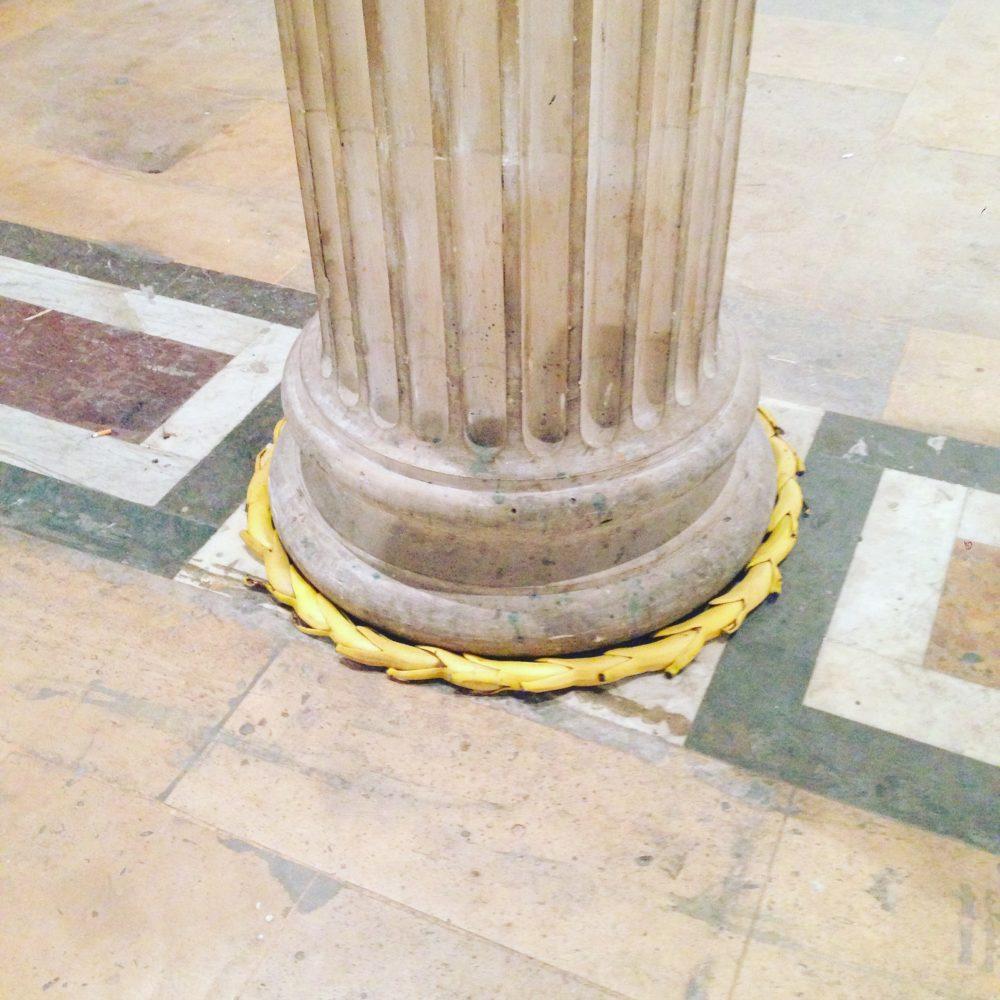 image of a banana sculpture